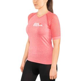 Compressport SwimBikeRun Training - T-shirt course à pied Femme - rose